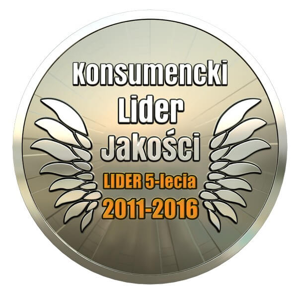 Consumer Leader of Quality Award 2011-2016