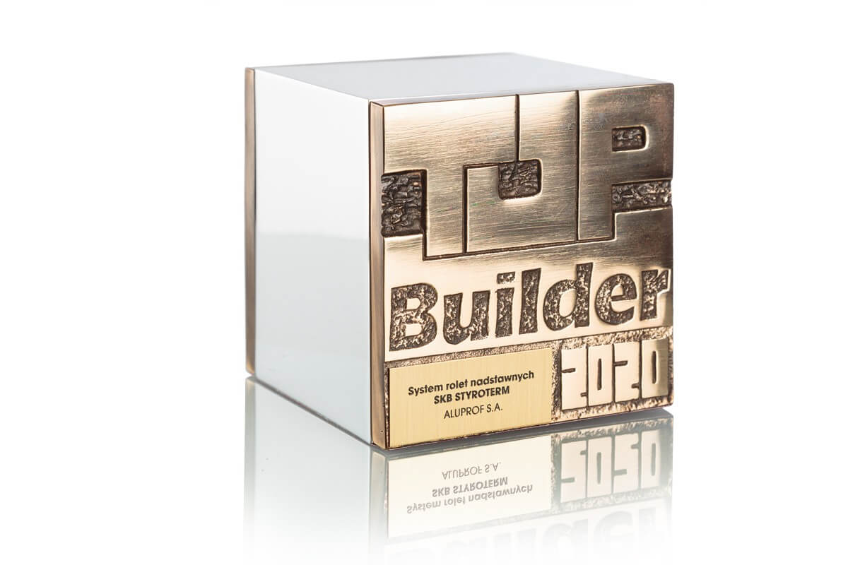 TOP BUILDER 2020 - The SKB Styroterm top-mounted roller shutter system